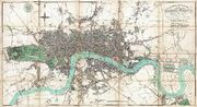 1806 Mogg Pocket or Case Map of London, England - Geographicus - London-mogg-1806