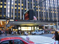 Penn Station NYC main entrance duran duran