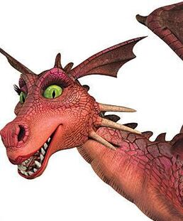 Shrek dragon