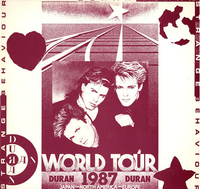 Strange behaviour 1987 duran duran bootleg album