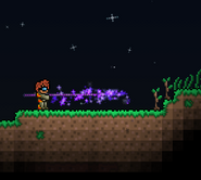 Terraria Dark Lance in Action