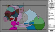 Modelsheet finnyoungprincessbubblegum kissing - specialpose
