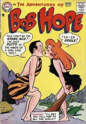 Cover for Adventures of Bob Hope #43