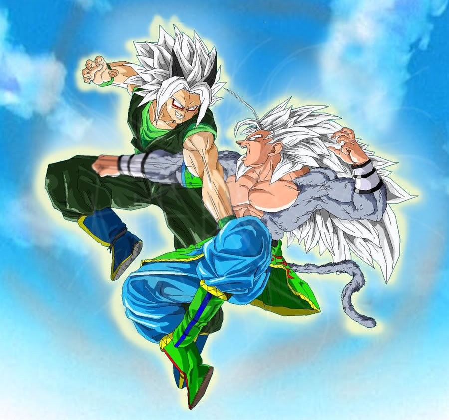 Image super saiyan 5 goku vs dragon ball af wiki - Goku vs vegeta super saiyan 5 ...