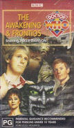 The Awakening and Frontios VHS Australian cover
