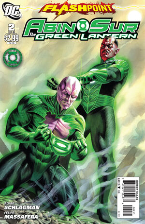 Cover for Flashpoint: Abin Sur - The Green Lantern #2