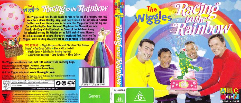 The Wiggles: Racing to the Rainbow movie