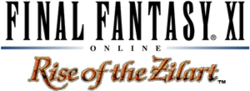 Logo de Final Fantasy XI Rise of the Zilart