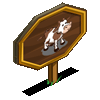 Cow Mastery Sign-icon