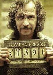 Sirius Black à Azkaban