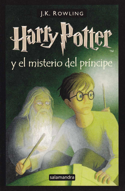 Harry Potter y el Misterio del Prncipe Portada Espaol