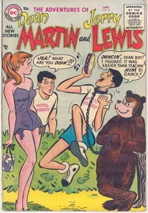 Cover for Adventures of Dean Martin and Jerry Lewis #26