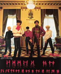 New Romantic Japanese promo poster duran duran 1981