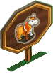 Candy Corn Pony Mastery Sign-icon
