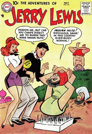 Cover for Adventures of Jerry Lewis #45