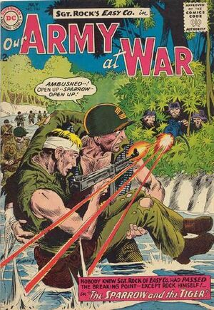 Cover for Our Army at War #144