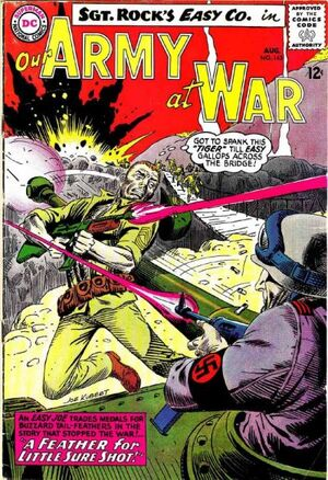 Cover for Our Army at War #145