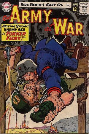 Cover for Our Army at War #155