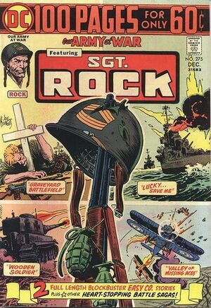 Cover for Our Army at War #275