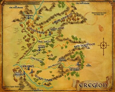 Map - Eregion