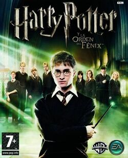 VJ5 harry potter y la orden del fenix caratula