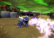 Drak spyro useing his powers