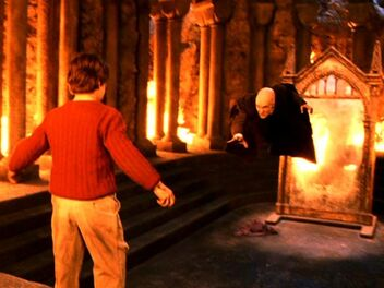 P1 Quirinus Quirrell volando