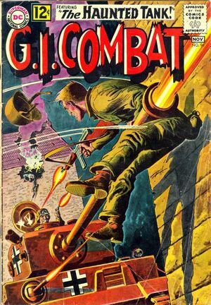 Cover for G.I. Combat #96