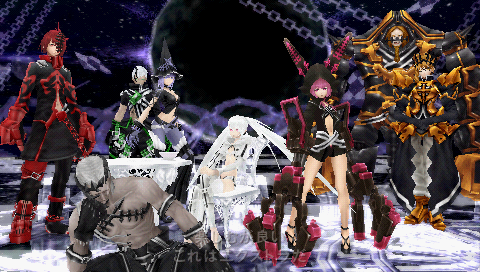 Black Rock Shooter The Game - PSP Snap162g