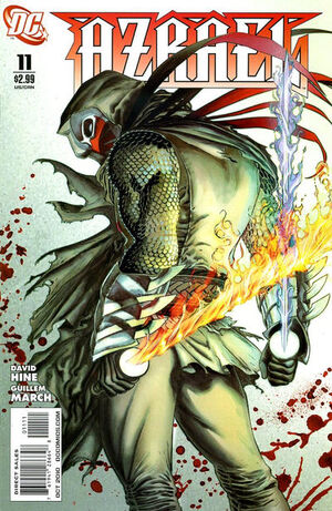 Cover for Azrael #11