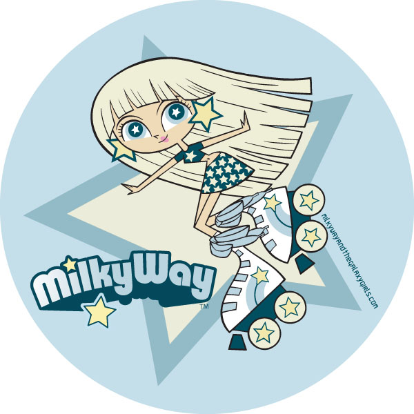 Milky Way Slice Milky Way