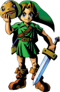 Link Artwork 1 (Majora&#39;s Mask)