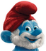 Papa Smurf Head