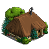 Dark Thatched Hut-icon