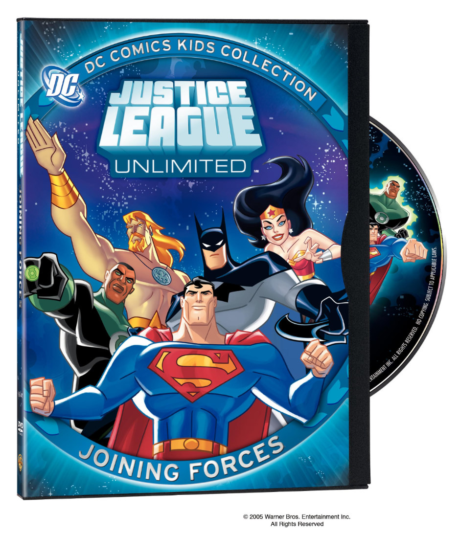 Justice League Unlimited DVD