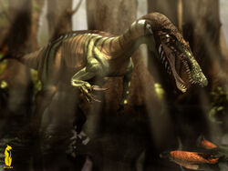 Baryonyx in the Flooded Forest .jpg