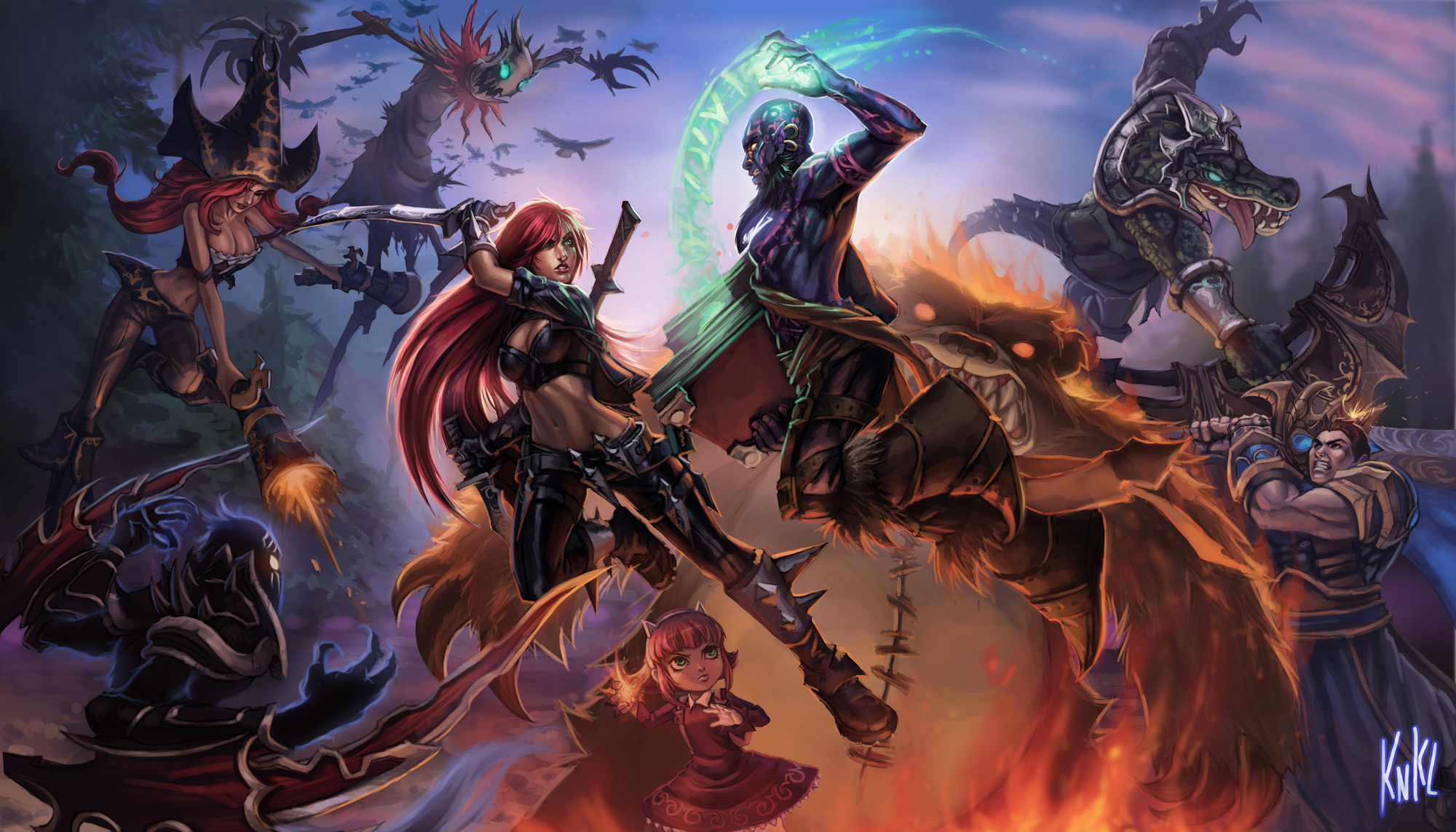 Champion League Of Legends Wiki Champions Items