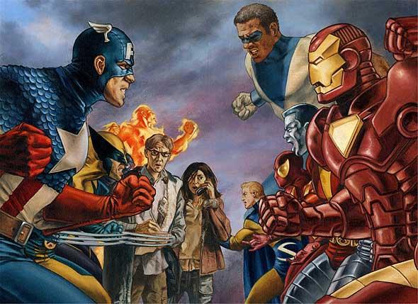 [Reseña] Civil War (Marvel) Civilwar