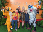 ANT Farm Cast Lion King 3D