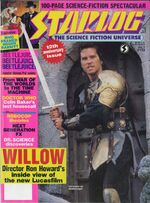 Starlog issue 132 cover