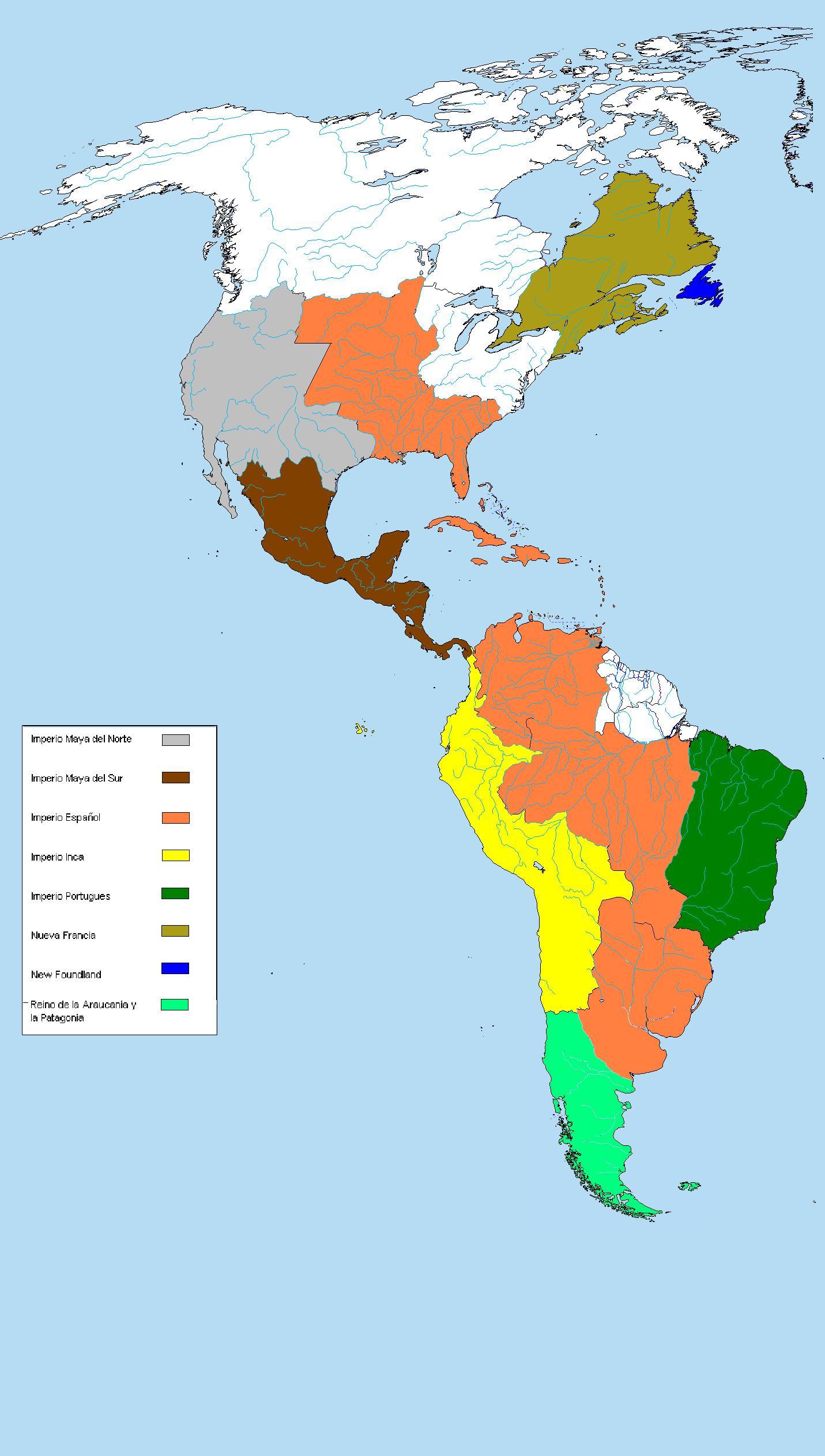 Imperio Maya - Historia Alternativa