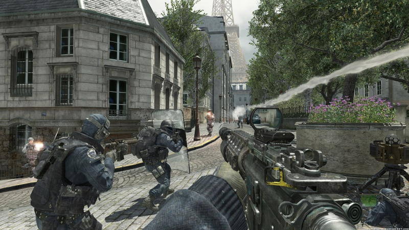 Call Of Duty Modern Warfare 3 Gameplay Pc.