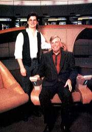 Ron Moore and Gene Roddenberry