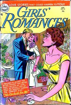 Cover for Girls&#39; Romances #24