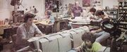 Part of Magicam's modelshop team working on several studio models of Star Trek The Motion Picture