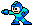 Mega Man sprite Left