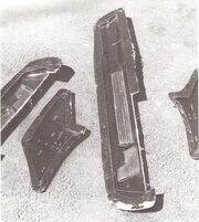 Star Trek Phase II Enterprise molds of the studio model