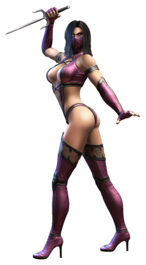 Mileena Official Render transparente