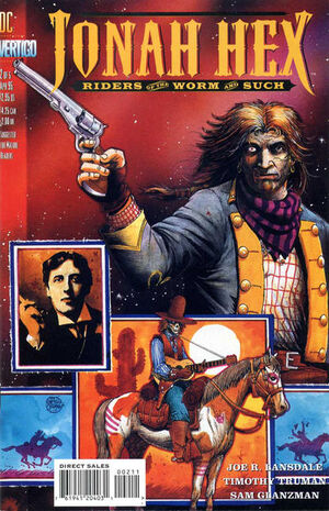 Cover for Jonah Hex: Riders of the Worm and Such #5