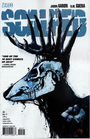 Cover for Scalped #45